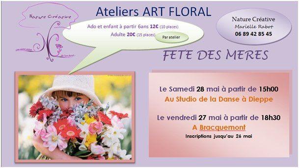art floral / nouvelle animatrice