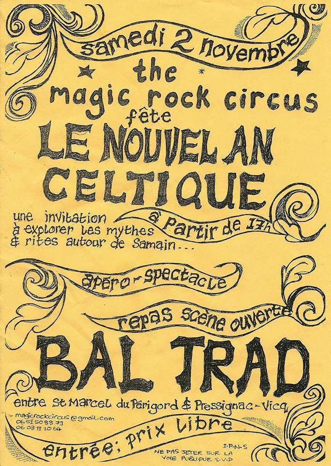 Pressignac-Vicq le 2 novembre bal folk  nouvel an celtique