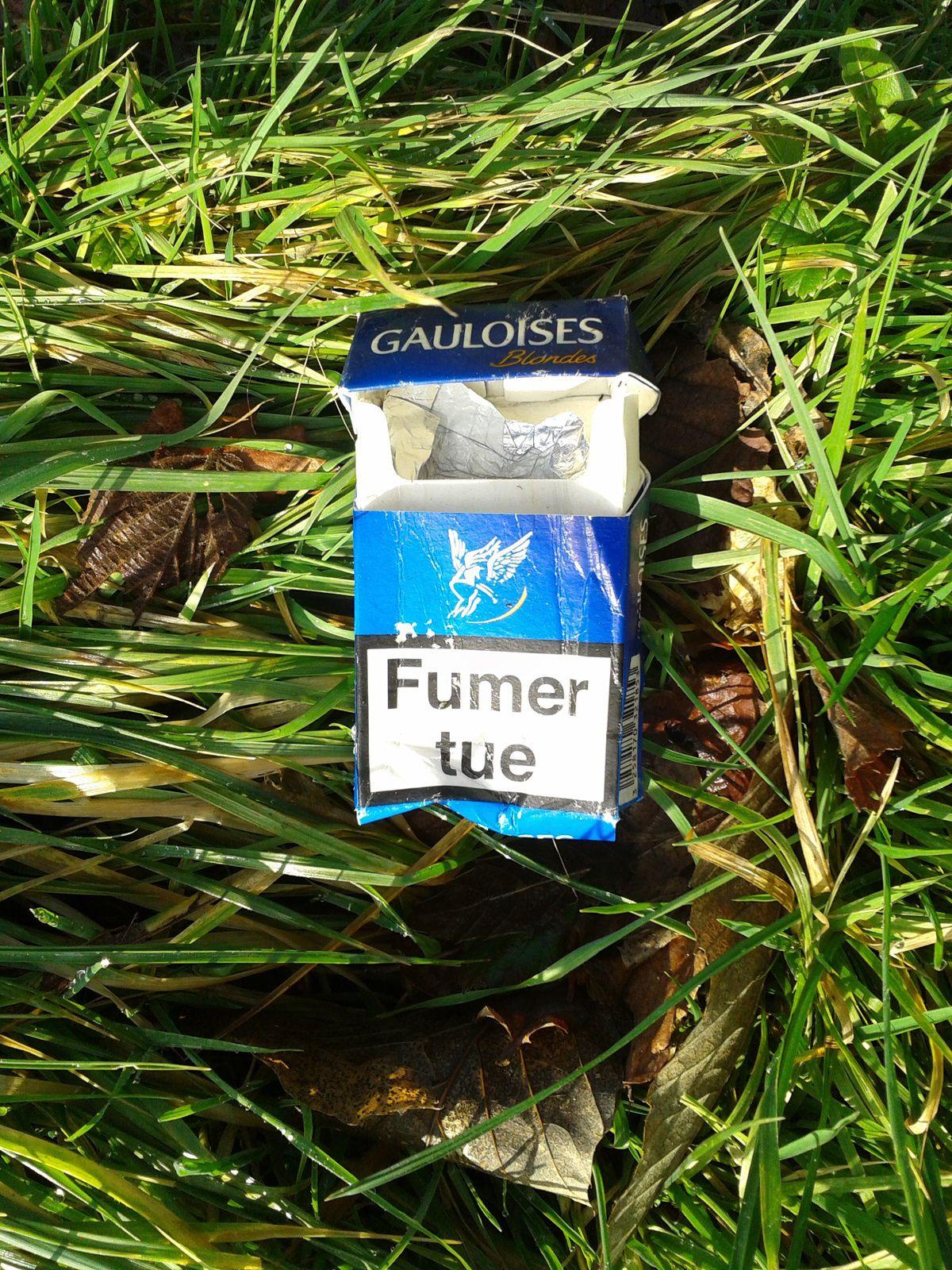 Fumer tue... Mais marcher est bon pour la santé!