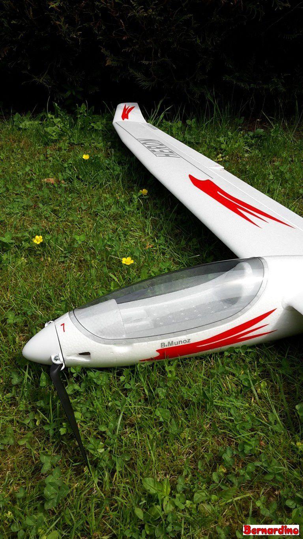 Détail sur l'avant du fuselage
