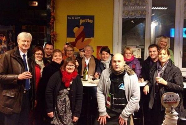 Au Moulin Rouge : Bravo aux commerçants et bénévoles !