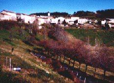 Nozières - Le village perché