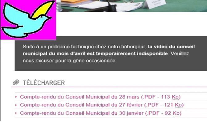 COLOMBES : le site de la ville a-t-il encore des problèmes avec son PC?