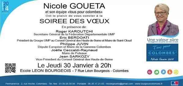 COLOMBES : Nicole Gouéta la prise en compte de la particularité de chaque quartier