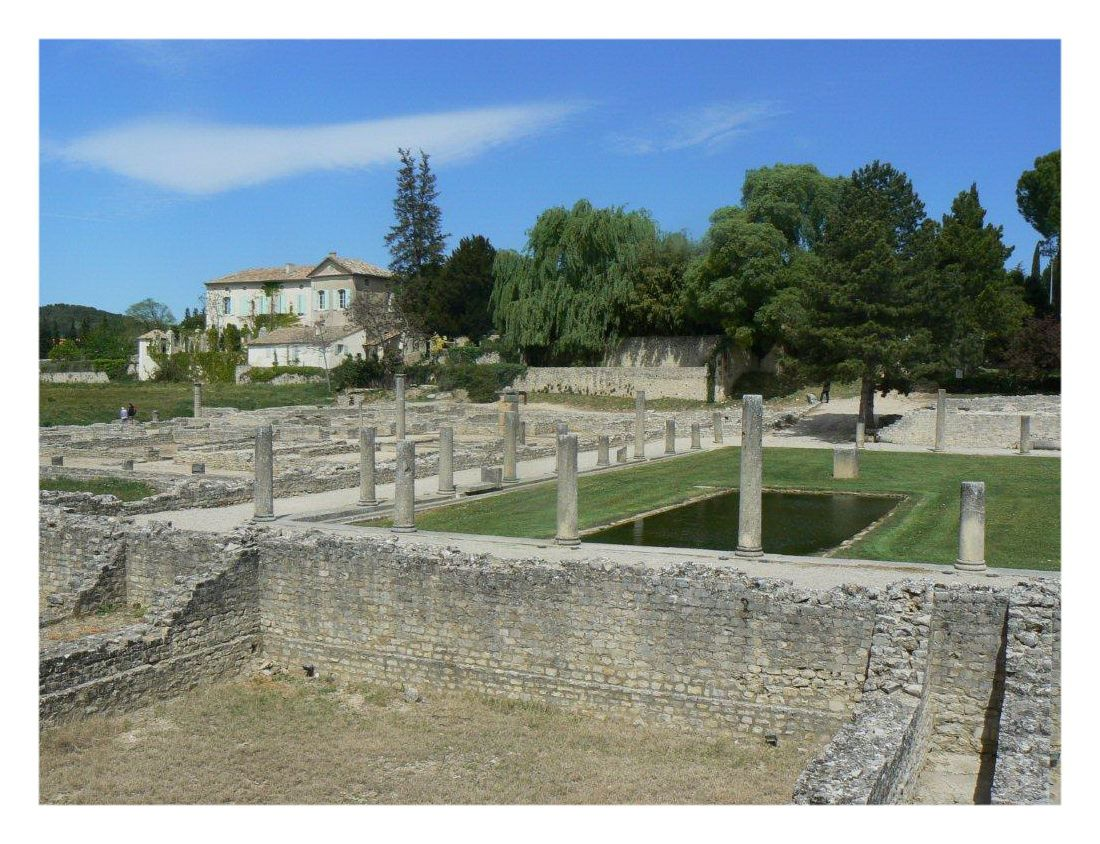 VAISON LA ROMAINE SITE ARCHEOLOGIQUE