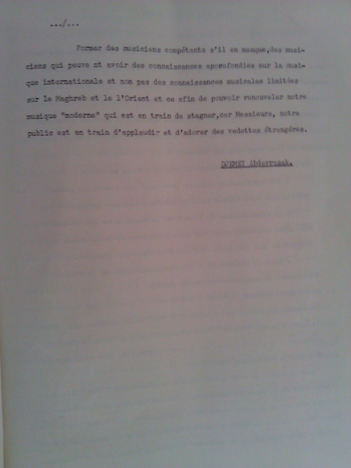 « Conscience » : L'autre journal du Club des jeunes de Menzel (1969)