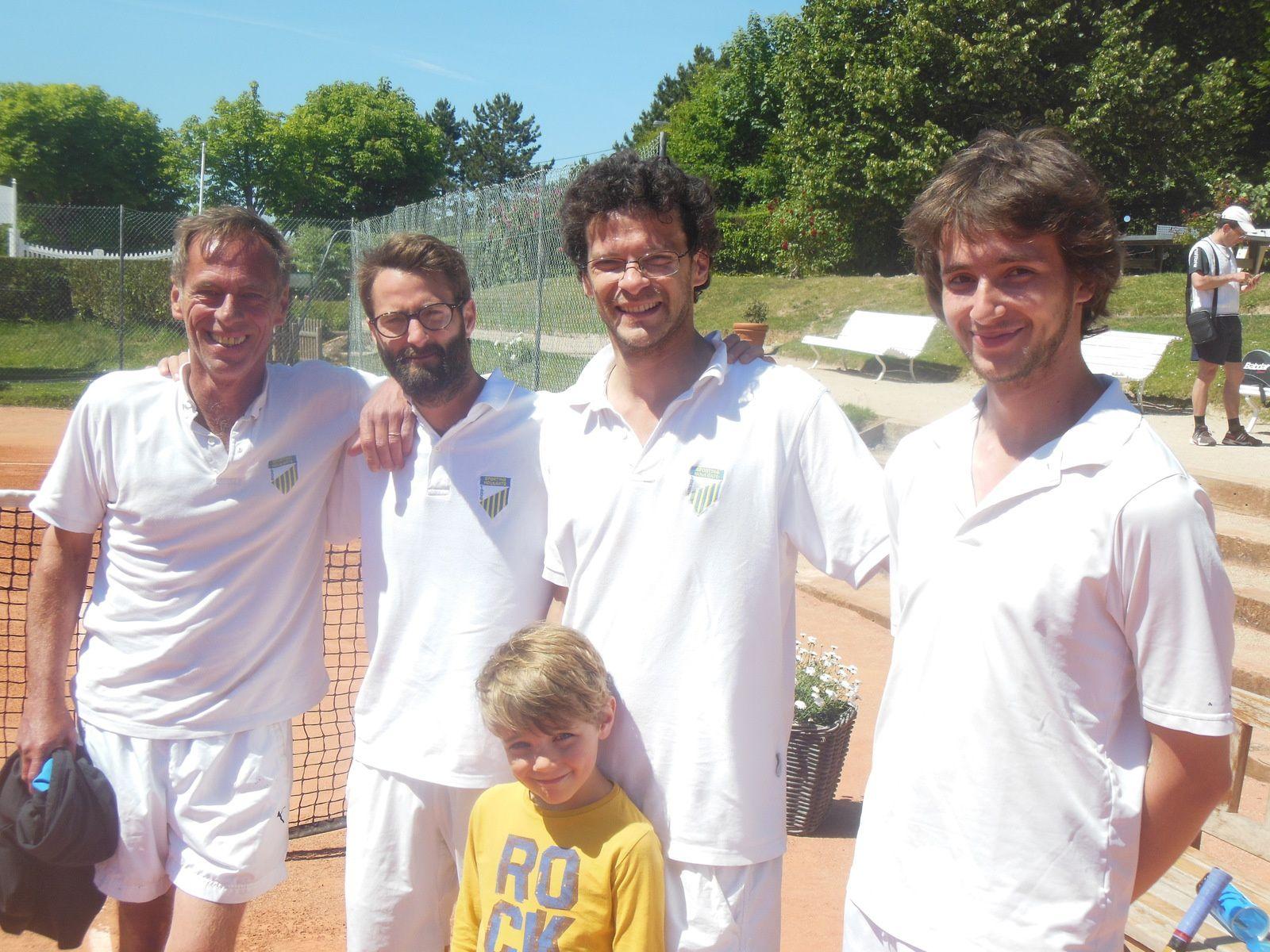 Gaetan, Sébastien, Charles et Lucien