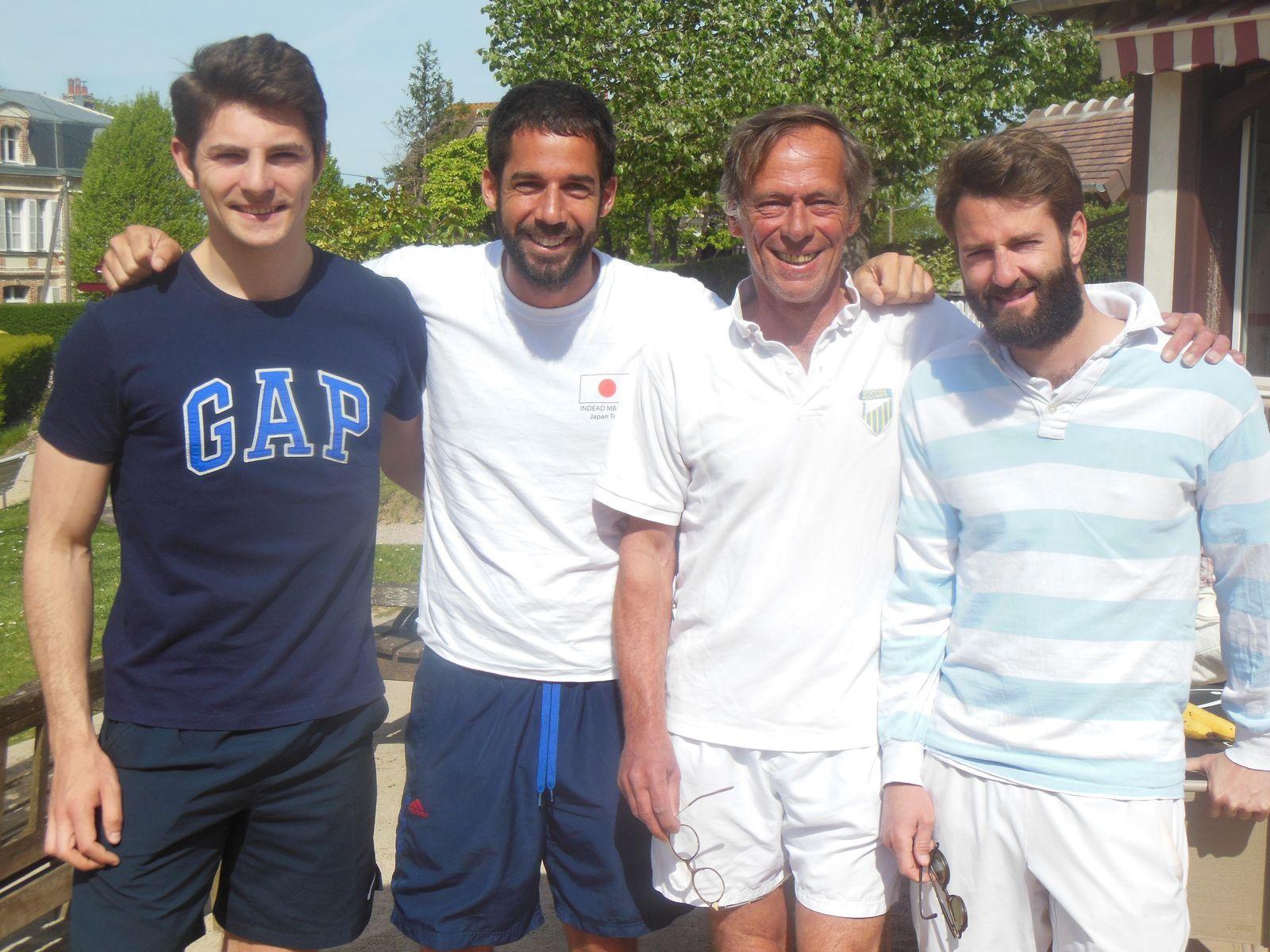Alexandre, Victor , Gaetan et Sébastien