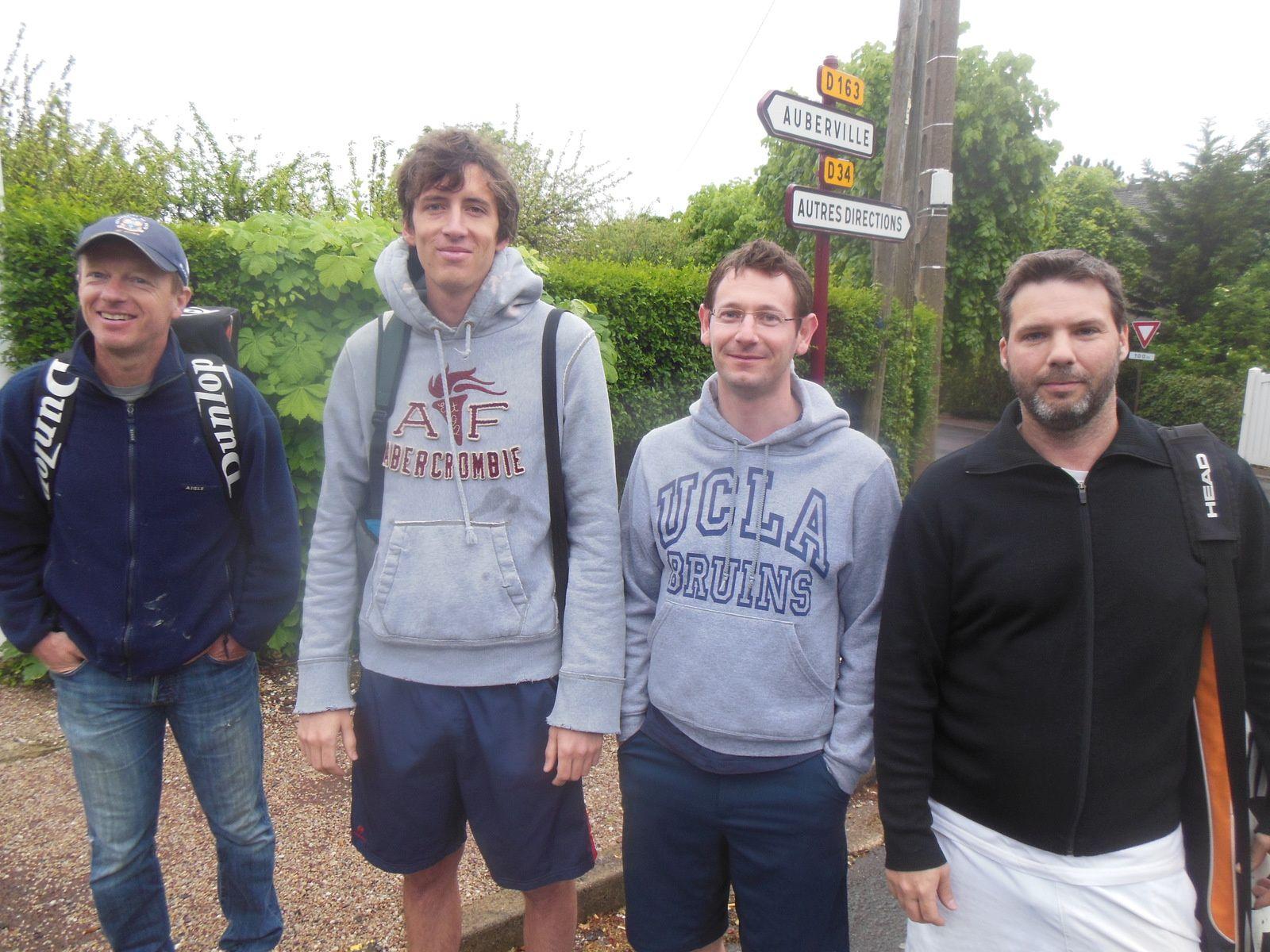 Nicolas L, Basile B, Christophe M et Stanislas M