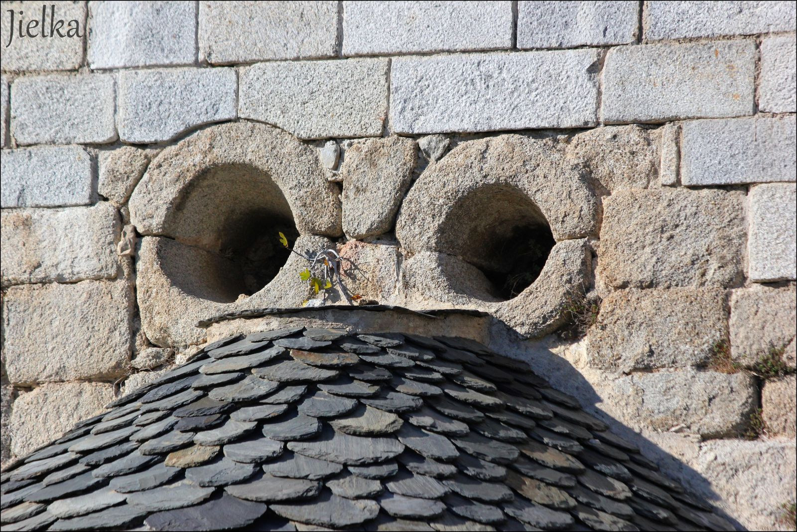 La chapelle sant Marti se trouve environ 1km avant l'entrée du village en arrivant de Arles sur Tech.