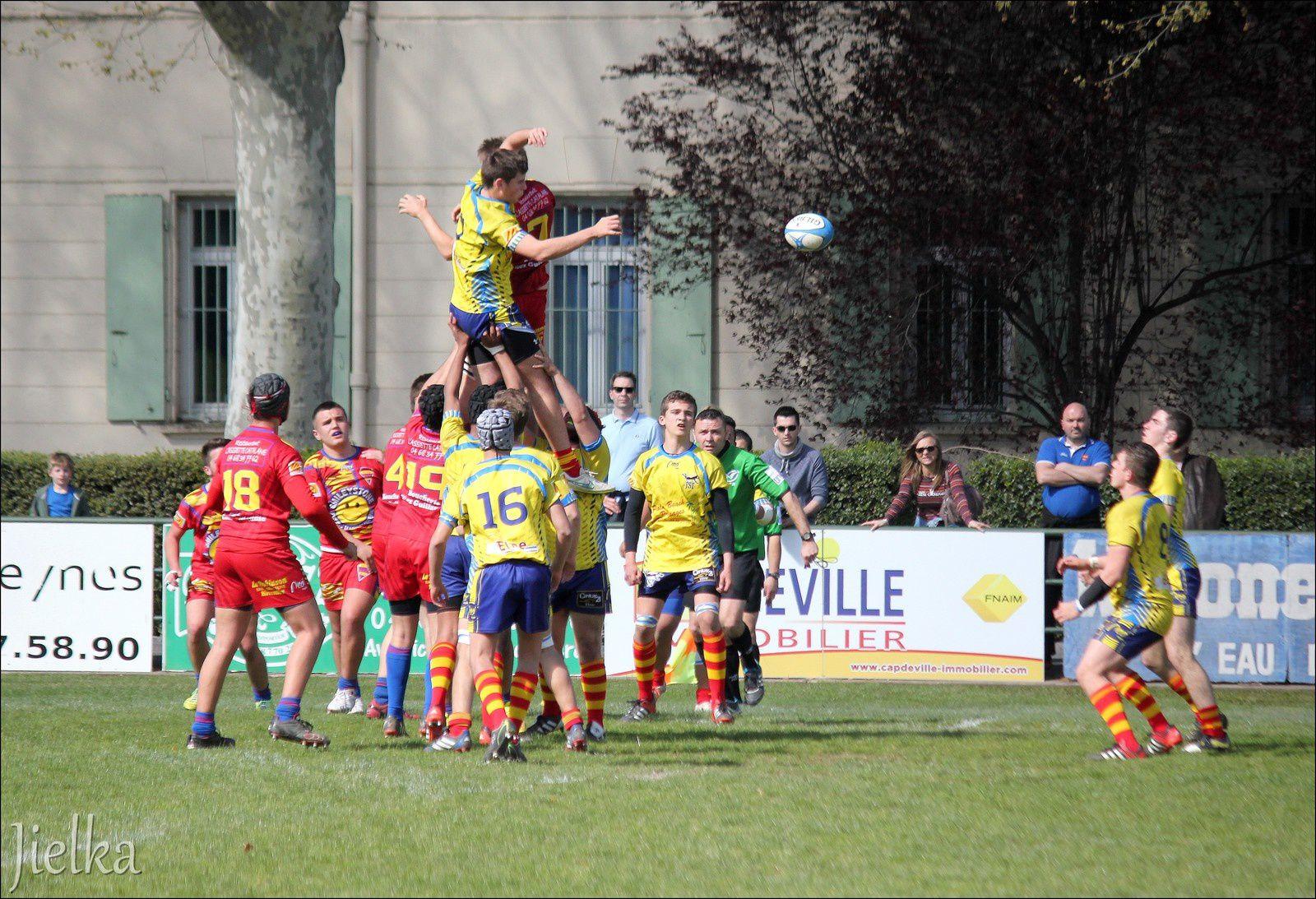 CÉRET (demi-finale junior Elne-Rivesaltes)