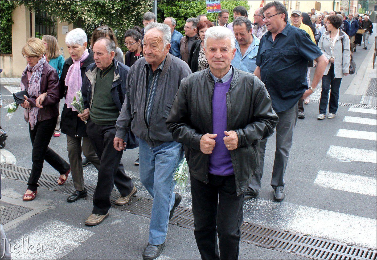 CÉRET (Le défilé du 1er mai)