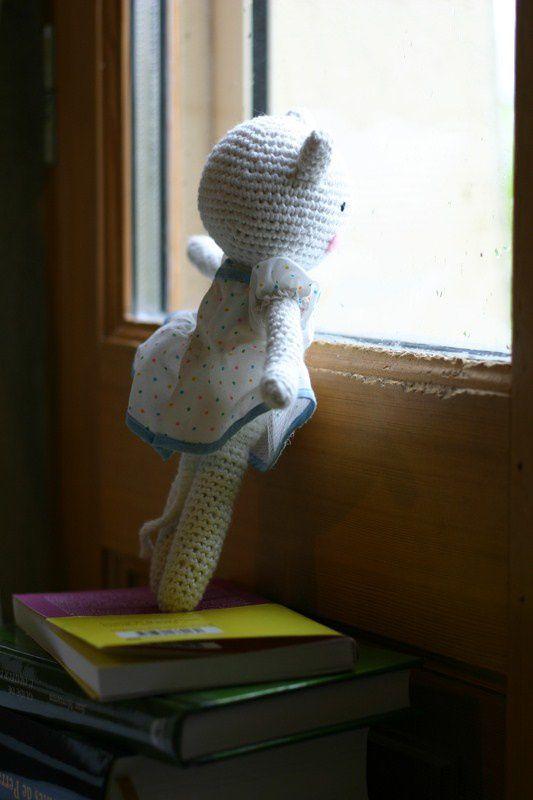 Défi crochet 2013 #4 - Violette la minette