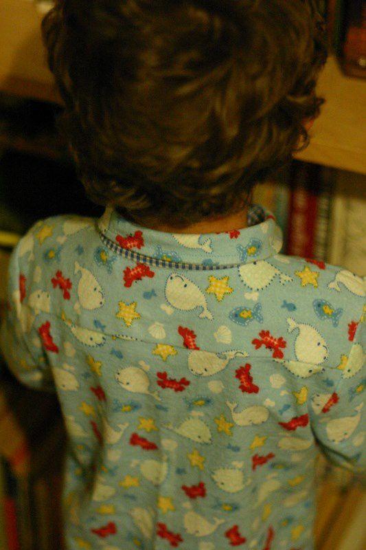 Pyjama roudoudou (défi pour P'tit Boy #20)