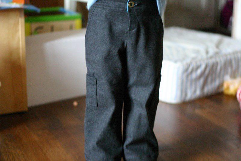 Le pantalon qui était imposible à photographier