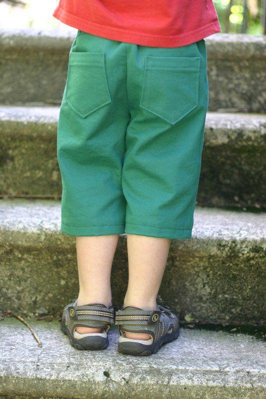 En culotte courte (défi Cousette pour P'tit Boy #23)