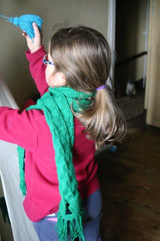 Tricoté en 2014 : l'écharpe du voleur de magie