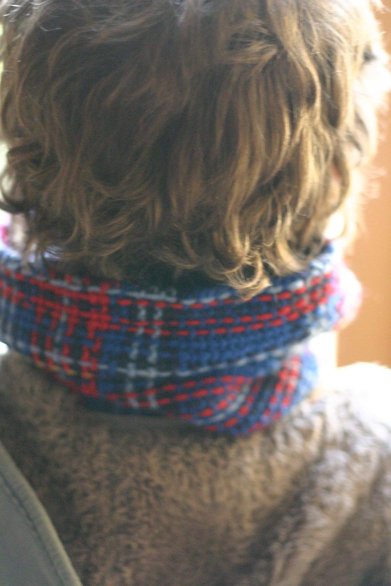 Princess Franklin Plaid Collar