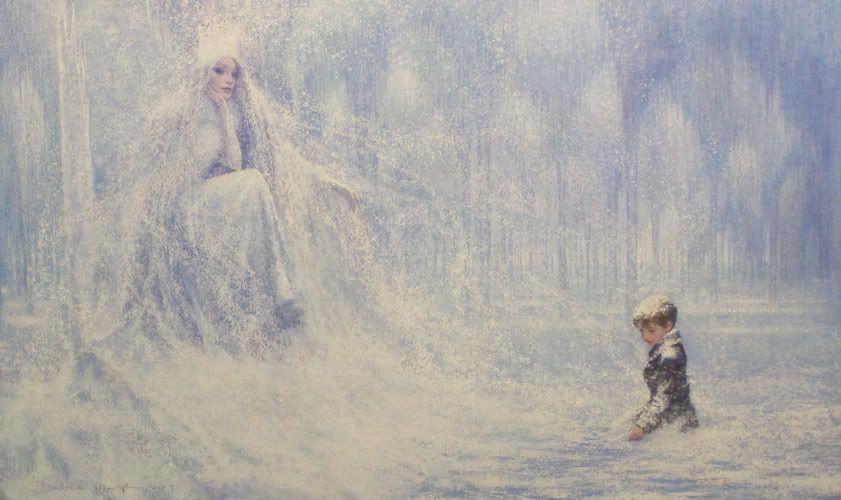 La reine des neiges - Hans Christian Andersen (illustré par Christian Birmingham)