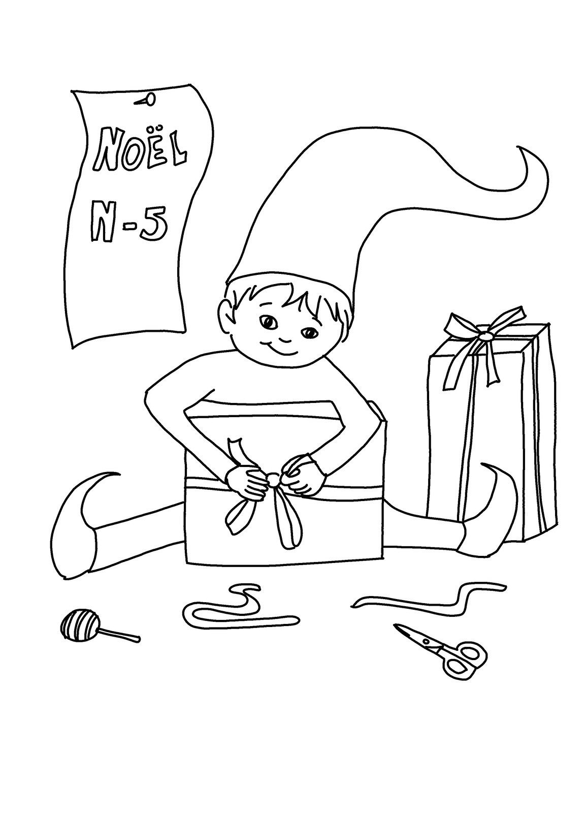N-5 (Noël arrive)