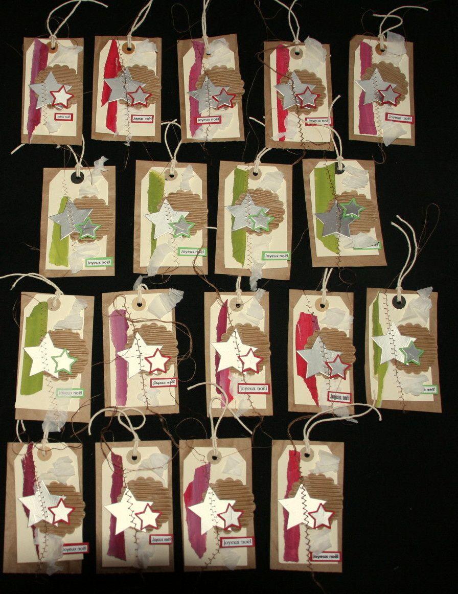 N°13 étiquettes cadeaux