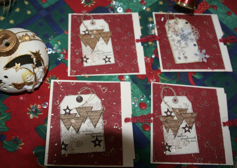 cartes de voeux avec pochette