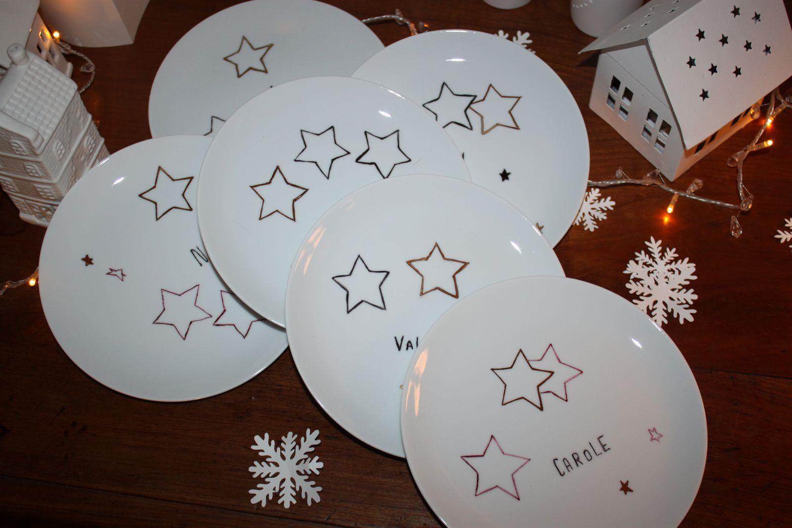 Des assiettes de Noël pour toute sa petite famille !