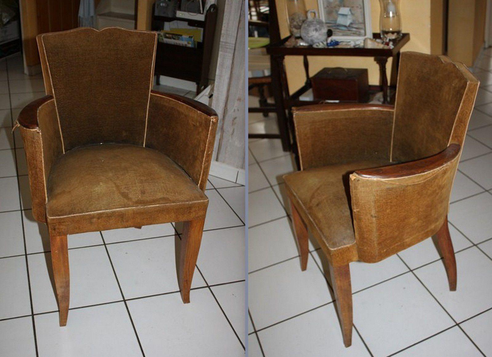 Petit fauteuil de bureau