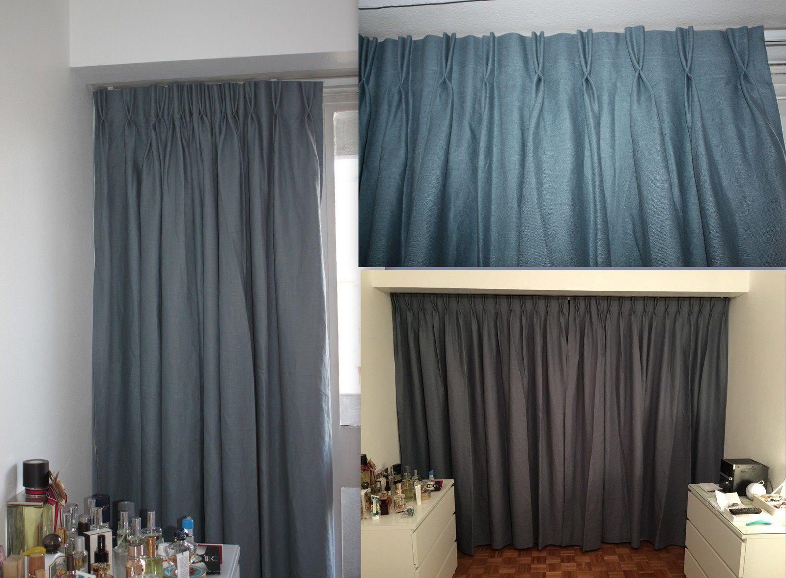 La chambre (la couleur exacte est celle de droite !)