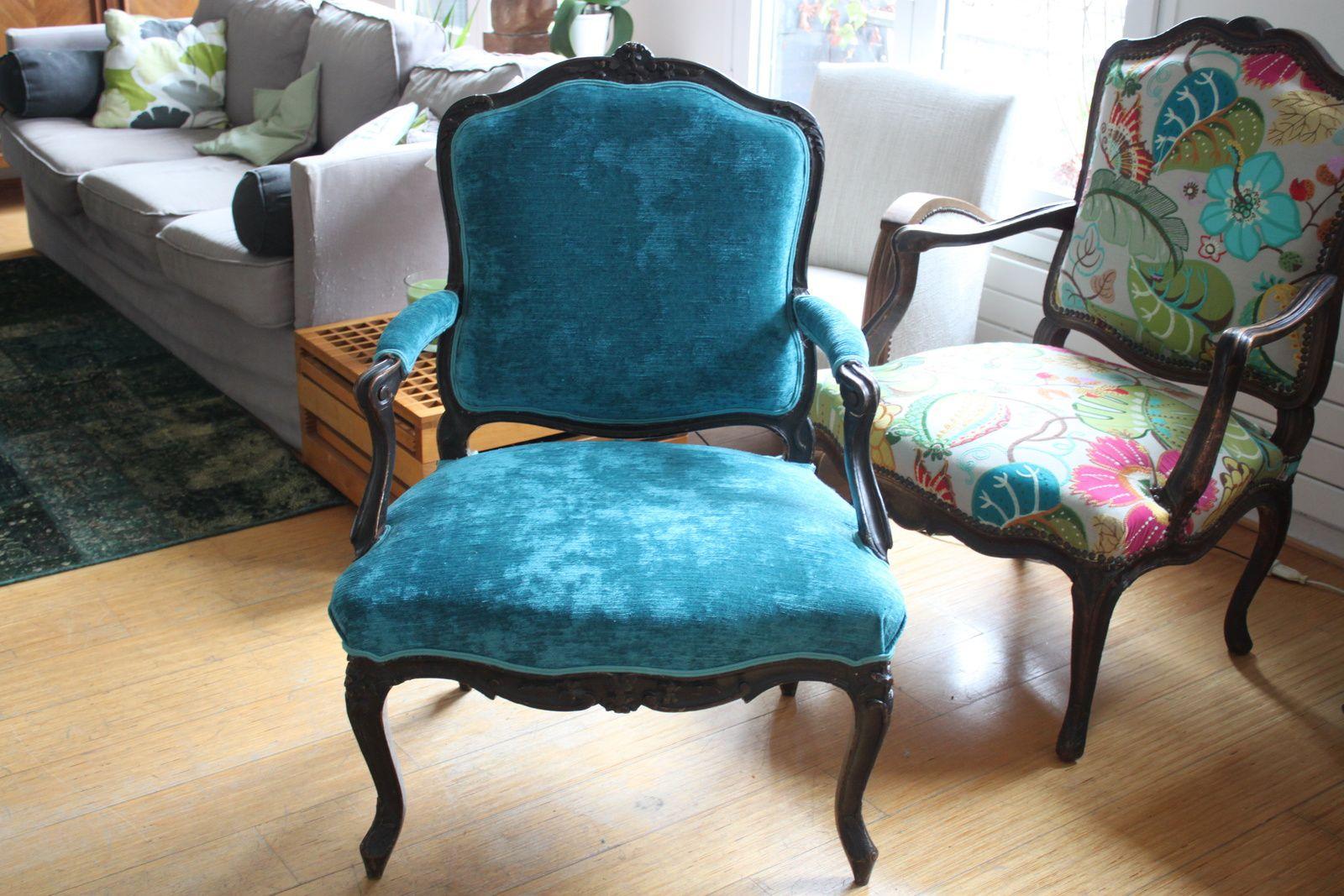 fauteuils &quot&#x3B;à la reine&quot&#x3B;  époque Louis XV