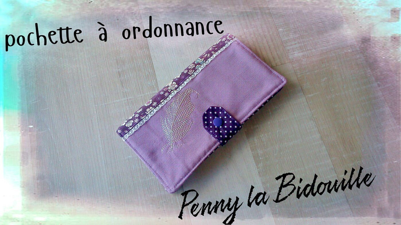 pochette ordonnance le blog de penny la bidouille. Black Bedroom Furniture Sets. Home Design Ideas