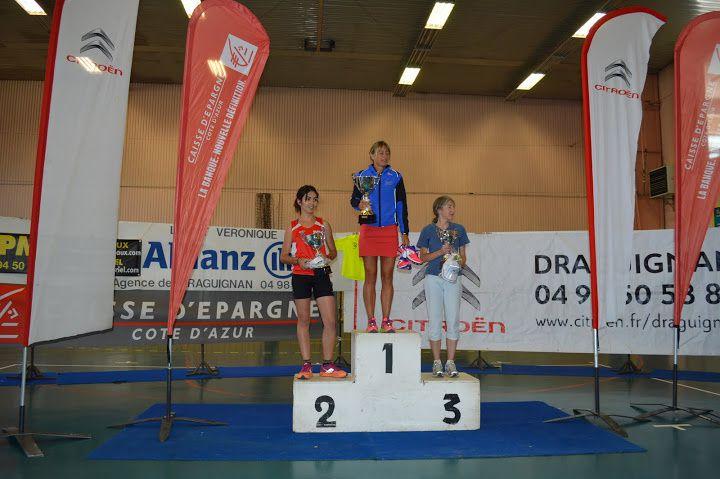 Le podium de Carole GUERIN