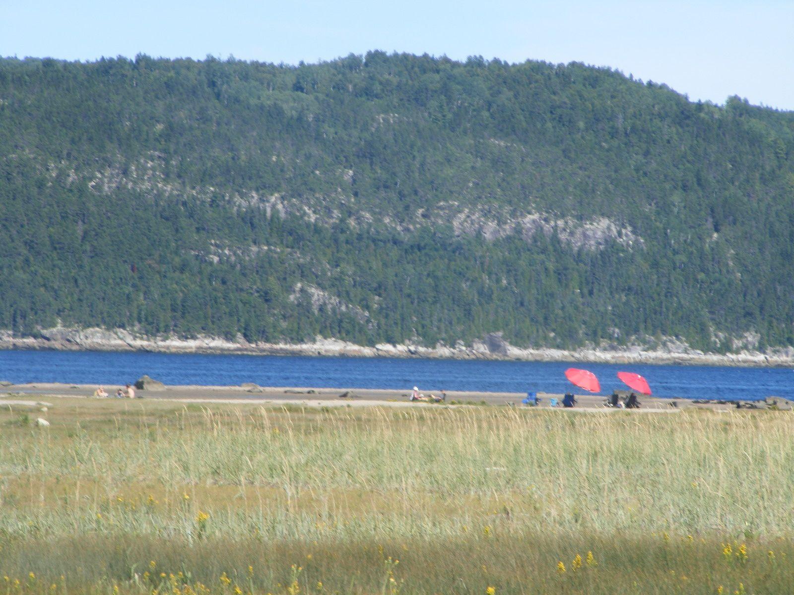 Le charmant village de Petit-Saguenay