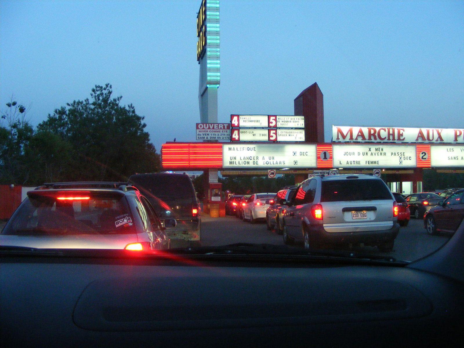 Une soirée au ciné-parc