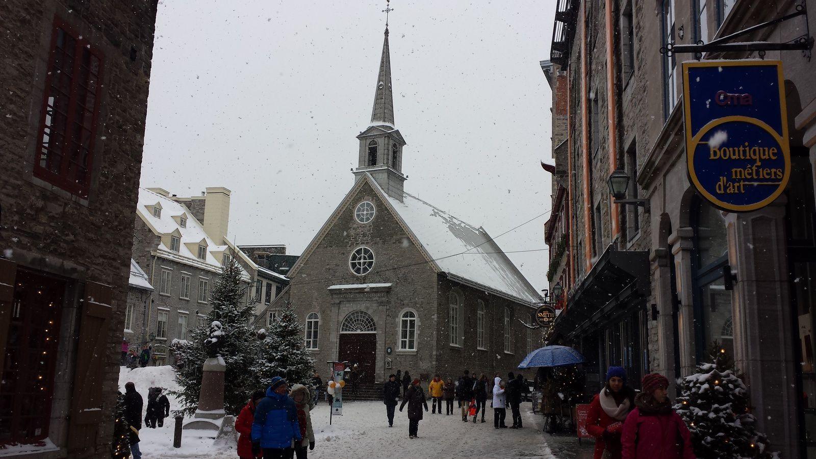 Église Notre-Dame-des-Victoires, Place Royale, vieux-Québec