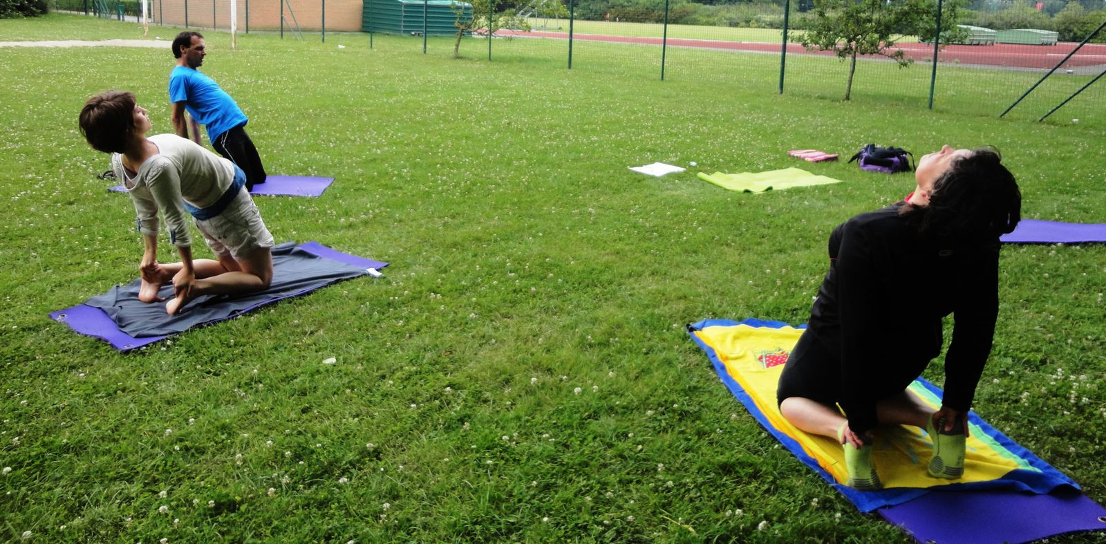 YOGA PLEIN AIR: images été 2013