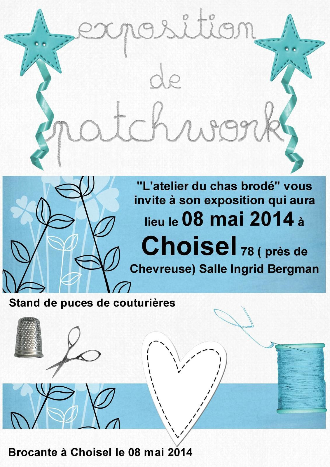 Exposition de Patchwork à Choisel