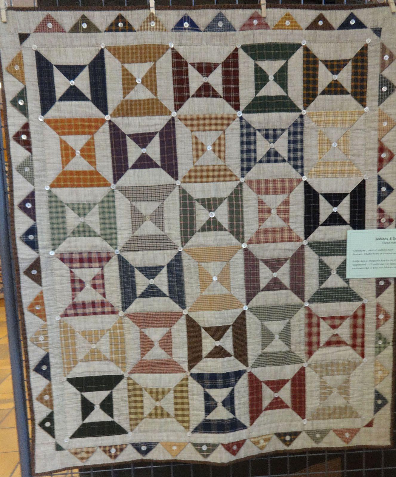 Exposition de patchwork à Marcoussis
