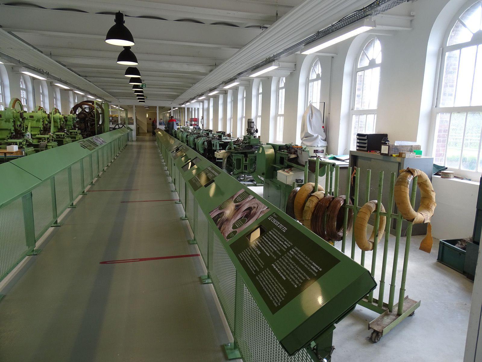 Promenade et visite de la Manufacture Bohin