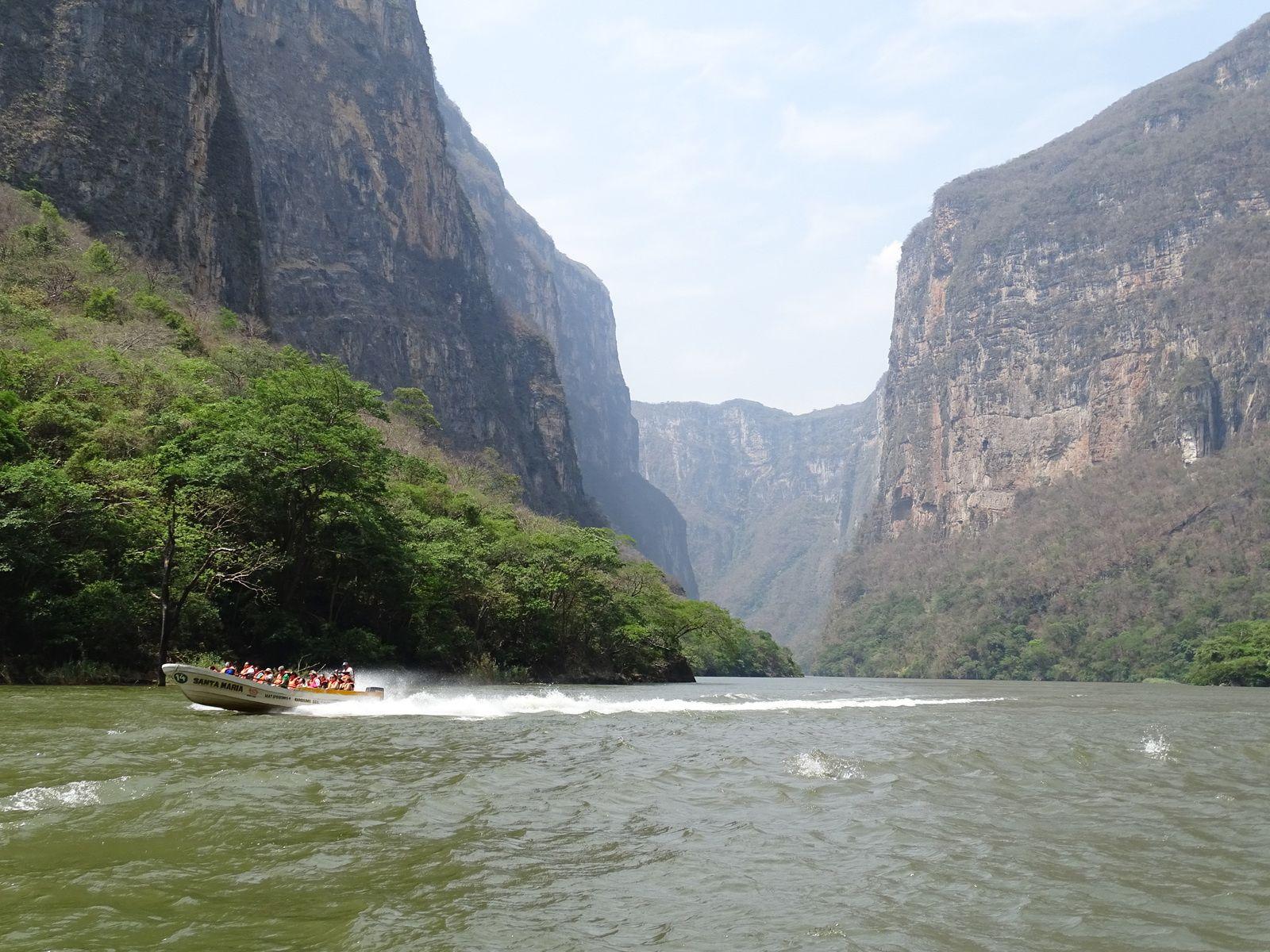 _ canyon de Sumidero