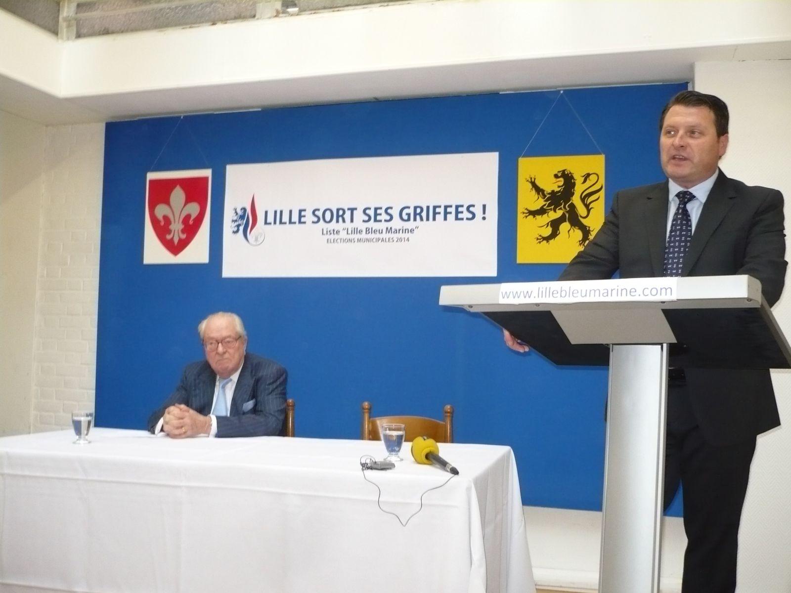 Annonce officielle de la candidature d'Eric DILLIES aux élections municipales à Lille