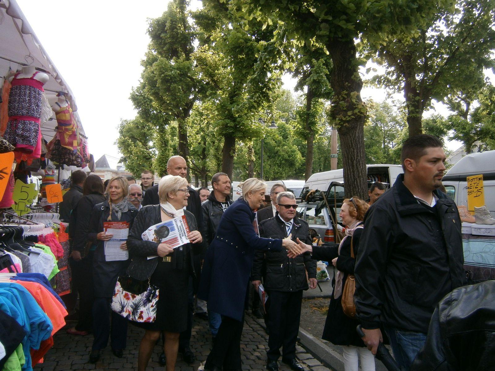 Notre Présidente, Marine LE PEN à Valenciennes et Douai