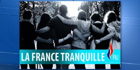 """""""La France tranquille"""", la nouvelle affiche du FNJ"""