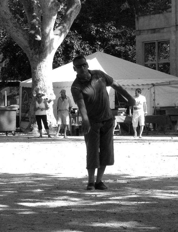 Une après midi au concours de boule...mixte! Images