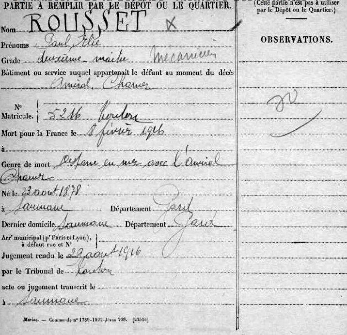 Histoire de Cabannes : Nous travaillons tous pour la France, pour ses enfants en leur assurant une vie nouvelle de paix, de prospérité…