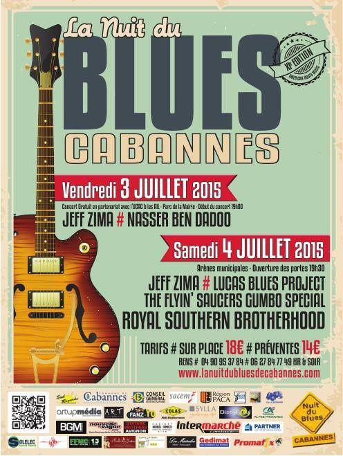 Nuit du blues...La programmation!