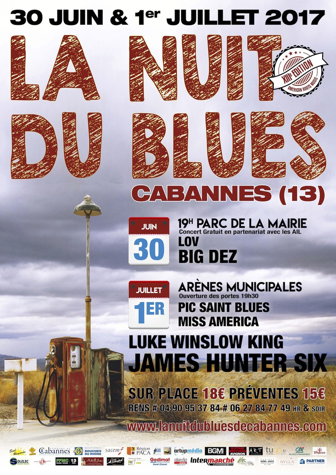 Nuit du blues de Cabannes: un petit avant gout des 30 juin et 1er juillet