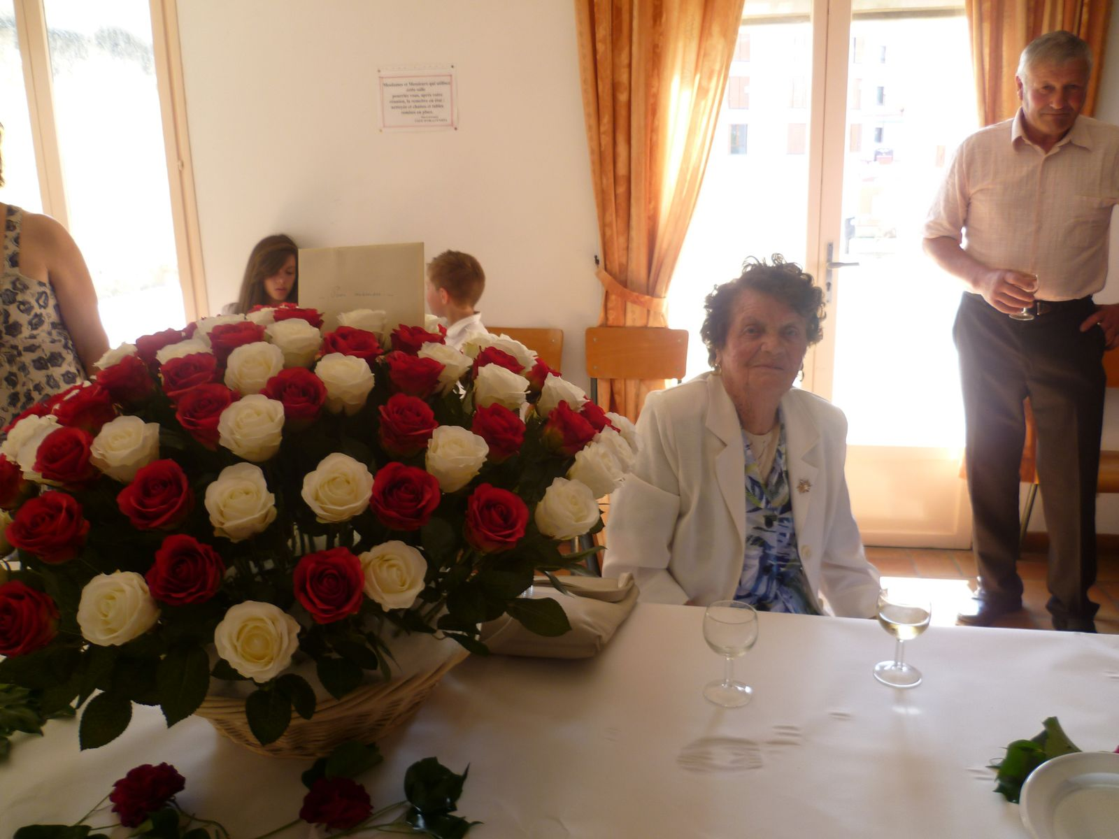 100 ans......100 roses..