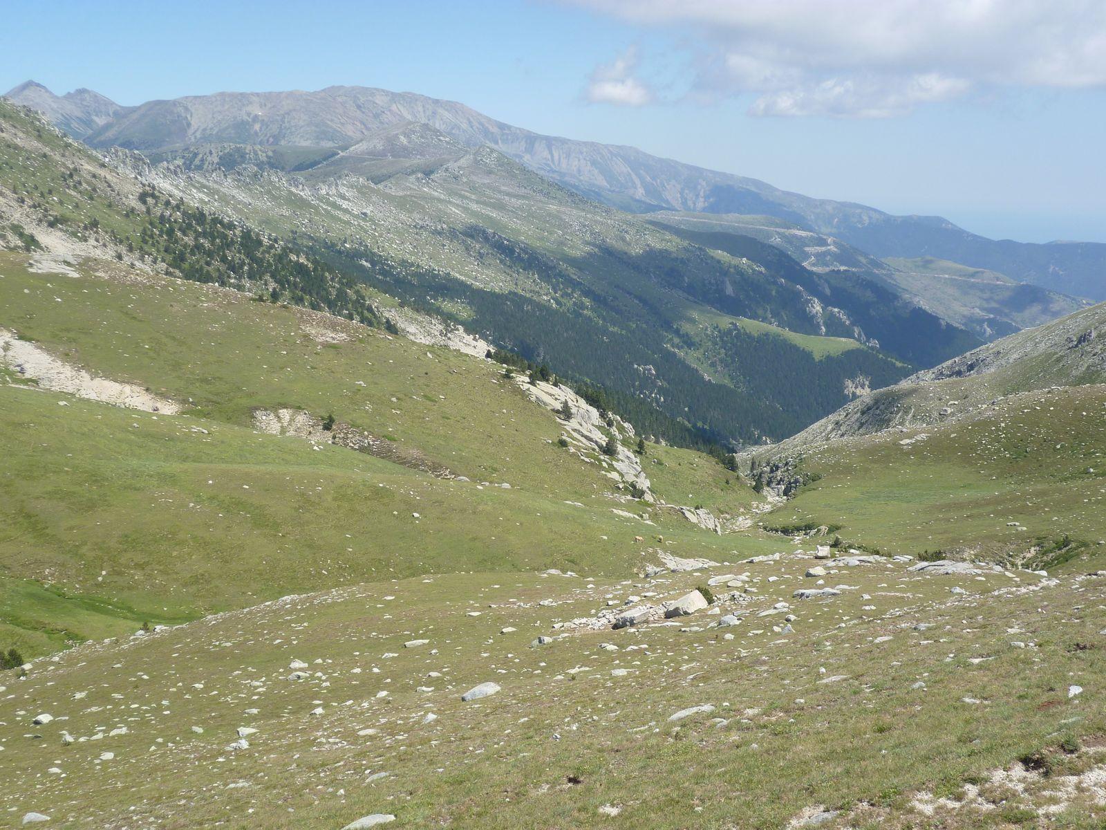 après 3 heures trente de marche le sommet se rapproche...