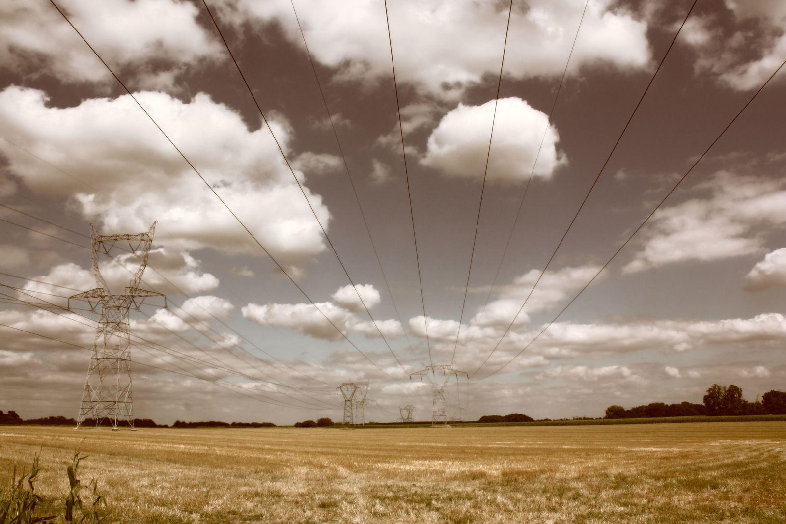 Sous les lignes, des champs..